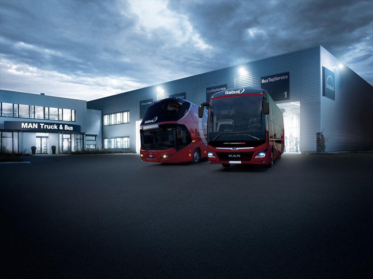 Bus Man Truck Center