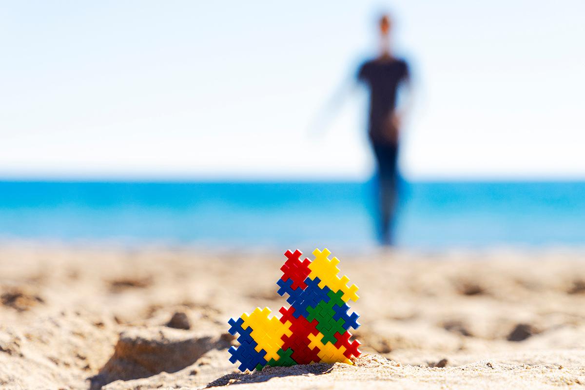 spiaggia autismo
