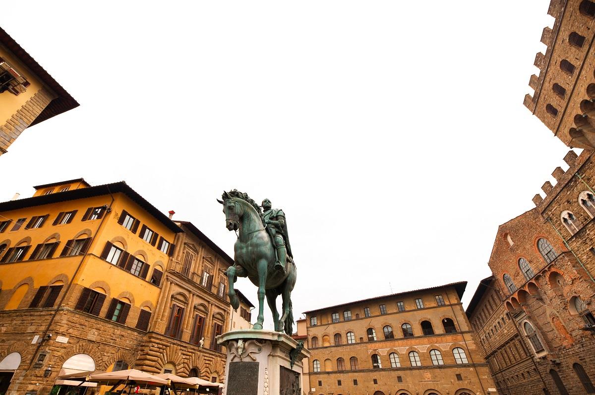 statua equestre firenze